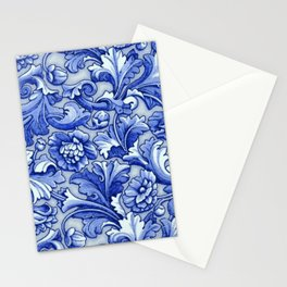 Blue and White Porcelain Stationery Cards