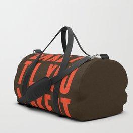 Bake It Til You Make It Duffle Bag