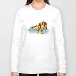 Sleeping Tiger Long Sleeve T-shirt