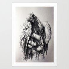Hand of Freedom Art Print