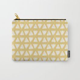 triangle pattern (4) Carry-All Pouch