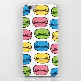 Colorful Macaroons iPhone Skin