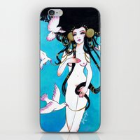 venus iPhone & iPod Skins featuring Venus by Leilani Joy