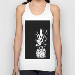 Pineapple Black and White #decor #society6 Unisex Tank Top