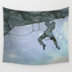 Climb On Wall Tapestry