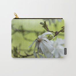 Star Magnolia Soaked Carry-All Pouch