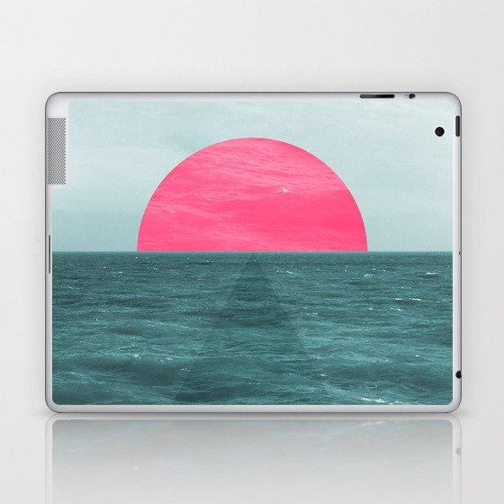 Magenta Sunset Laptop & iPad Skin