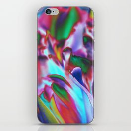 Colored Tulips iPhone Skin