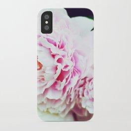 Peony Garden Splendor I iPhone Case