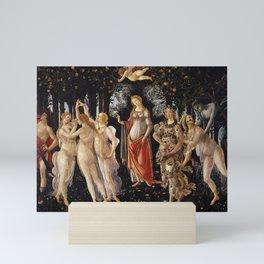 Primavera -Sandro Botticelli Mini Art Print