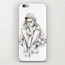 Harry sailor sketch iPhone Skin