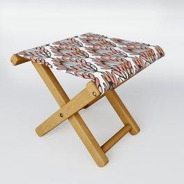 Protea Orange #homedecor Folding Stool