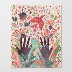 Spring Bird Canvas Print