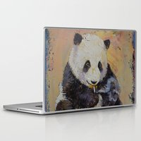 cigarette Laptop & iPad Skins featuring Cigarette Break by Michael Creese