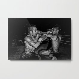 This is Muay Thai. Metal Print