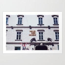Innere Stadt - Vienna, Austria - #5 Art Print