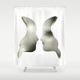 Profiles Shower Curtain