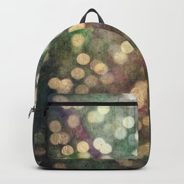 Magical Lights Gold Dots Backpack