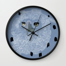 Eagle Eyes Wall Clock