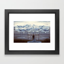 The big day Framed Art Print