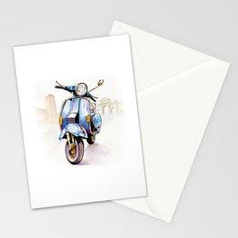 Azzurro Vespa (Motocicletalia) Stationery Cards