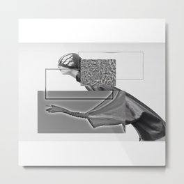 mad woman Metal Print