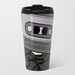Icelapse Macintosh - Music Inspired Cassette Tape Digital Vector Travel Mug