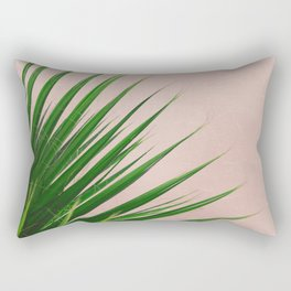 Summer Time | Palm Leaves Photo Rectangular Pillow