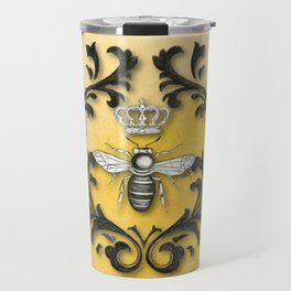 Damask Bee Travel Mug