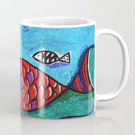 Orange fish Coffee Mug