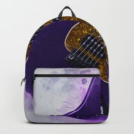Electric Guitar Art Backpack