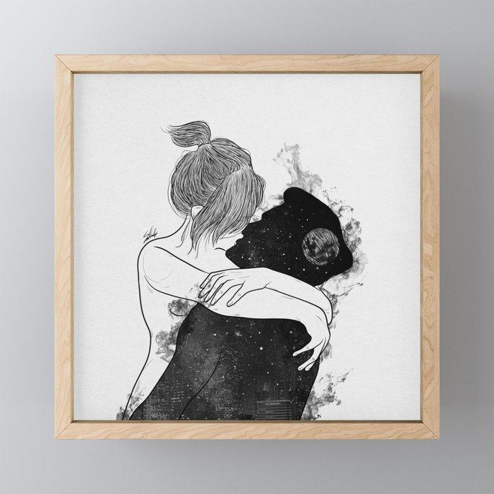 You're my favorite city. Framed Mini Art Print