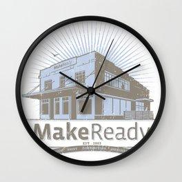 MakeReady 09 Redux Wall Clock