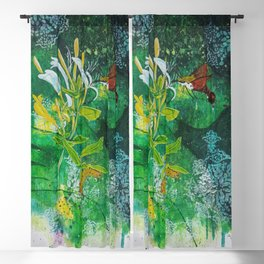 Neither Bird, Nor Bee, Nor Flying Crawfish Blackout Curtain