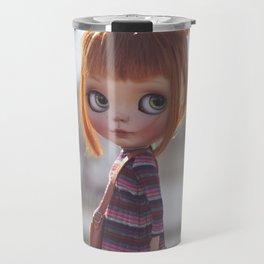 Carmencita Blythe doll y Erregiro Travel Mug