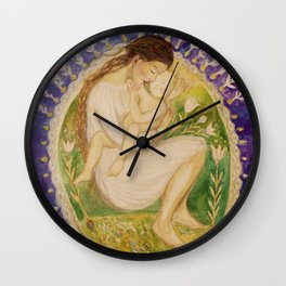 The Adoration Wall Clock