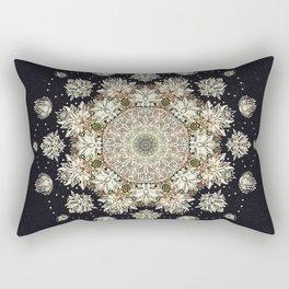 Winter's Spirit Mandala Rectangular Pillow