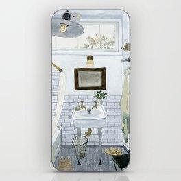 In The Bathroom iPhone Skin