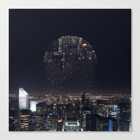 witchoria Canvas Prints featuring Insomnia by witchoria