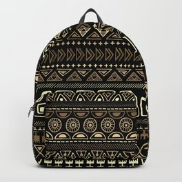 Ethnic tribal Pattern Backpack