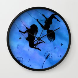 Free As The Wind Wall Clock