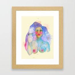 We all bleed the same color  Framed Art Print