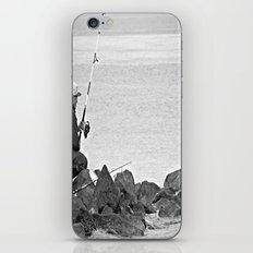 Fishing Alone iPhone & iPod Skin