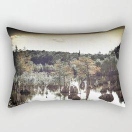 Dead Lakes Grunge Style Rectangular Pillow