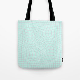 Plain Graph: Pink Tote Bag