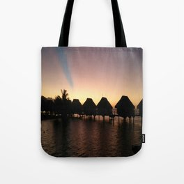 Paradise at Twighlight Tote Bag