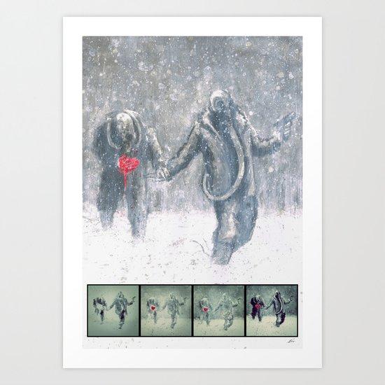 Brothers (Process) Art Print