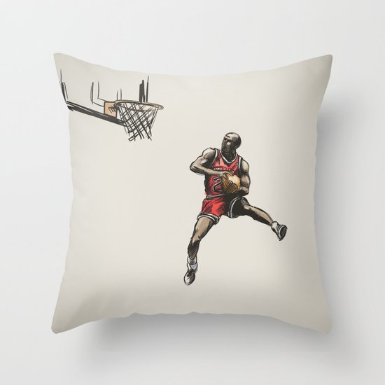 MJ50 Throw Pillow