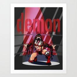 Finn Balor - Demon Art Print