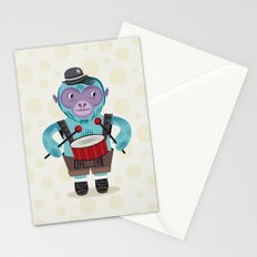 The Monkey Drummer Stationery Cards
